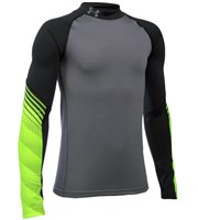 Under Armour Boys ColdGear Armour Mock Up Baselayer