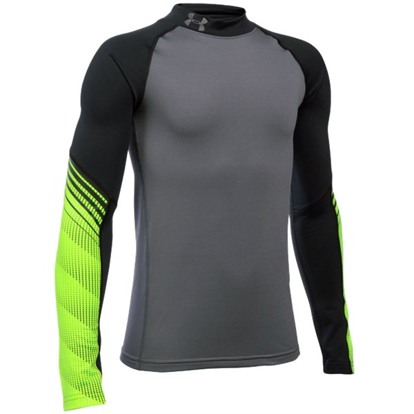 2fe6fb62 Under Armour Boys ColdGear Armour Mock Up Baselayer. Double tap to zoom. 1;  2; 3