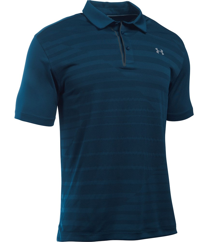 Under Armour Mens Cool Switch Jacquard Polo Shirt Golfonline