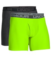 Under Armour Mens Original Series 15cm Boxer Jock  2 Pack