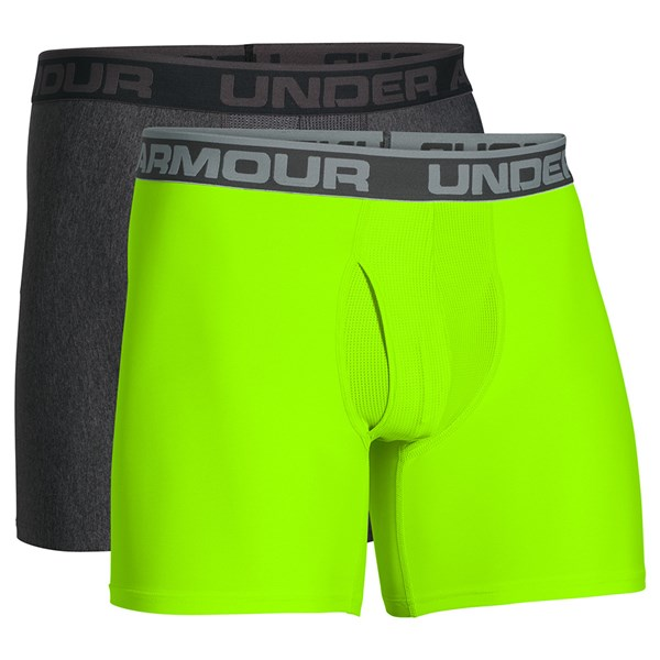 Under Armour Mens Original Series 15cm Boxer Jock (2 Pack)