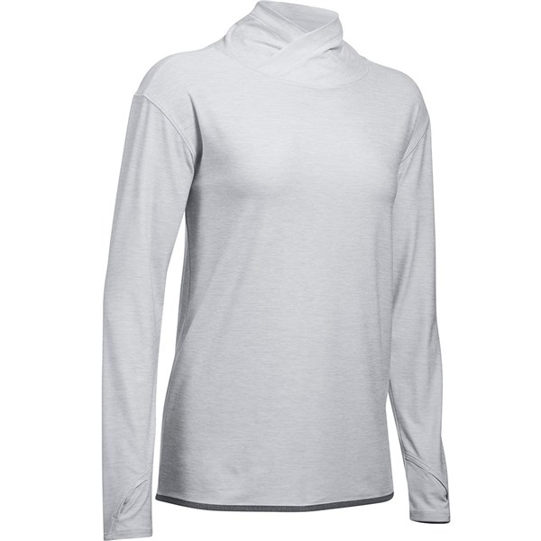 Under Armour Ladies Zinger Cowl Neck Long Sleeve Top