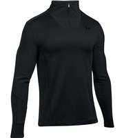 Under Armour Mens ColdGear Infrared Grid Quarter Zip Pullover