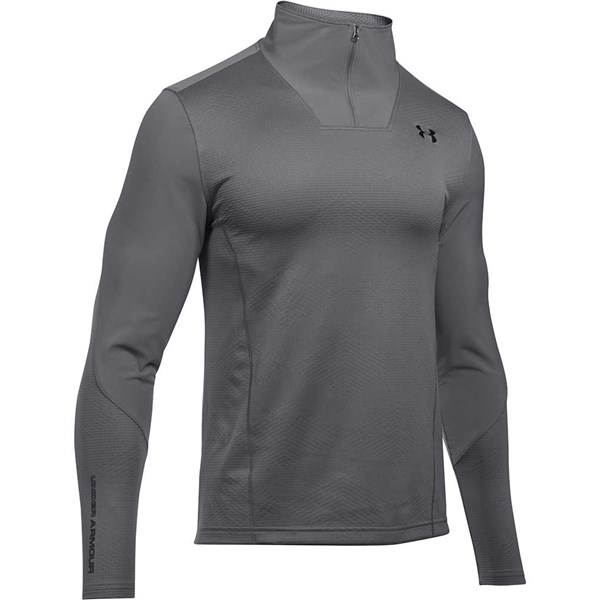 3782b045bfd57 Under Armour ColdGear Infrared Grid Quarter Zip Pullover