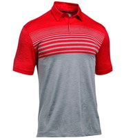 Under Armour Mens CoolSwitch Upright Stripe Polo Shirt
