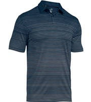 Under Armour Mens Trajectory Stripe Polo Shirt