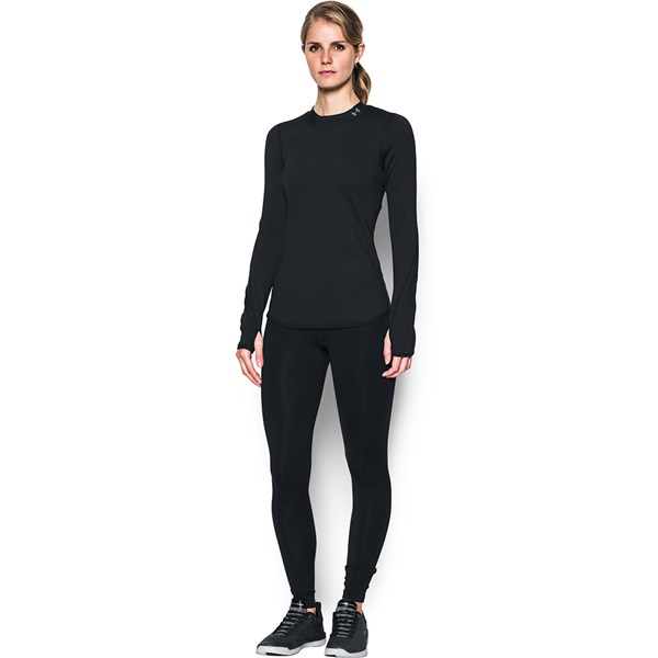 Under Armour Womens ColdGear Armour Fitted Mock Neck Under Armour Apparel 1298262