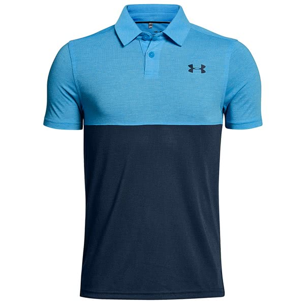 Under Armour Boys Threadborne Blocked Polo Shirt