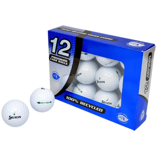 Srixon Soft Feel Pearl Grade Lake Balls (12 Balls)