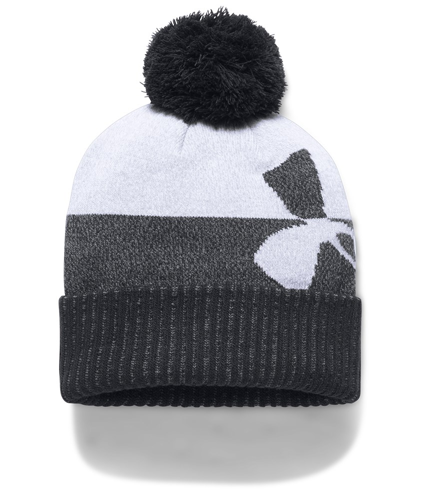 Under Armour Boys Pom Beanie Hat 2017 - Golfonline 68596187f7da