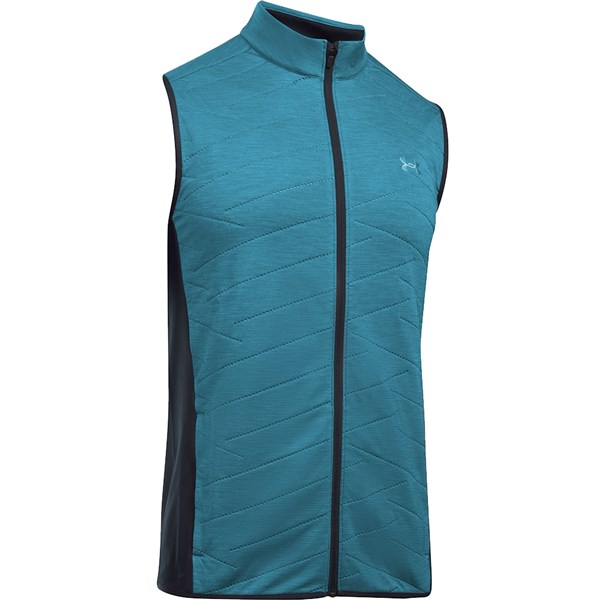 Under Armour Mens Reactor Hybrid Half Zip Golf Vest