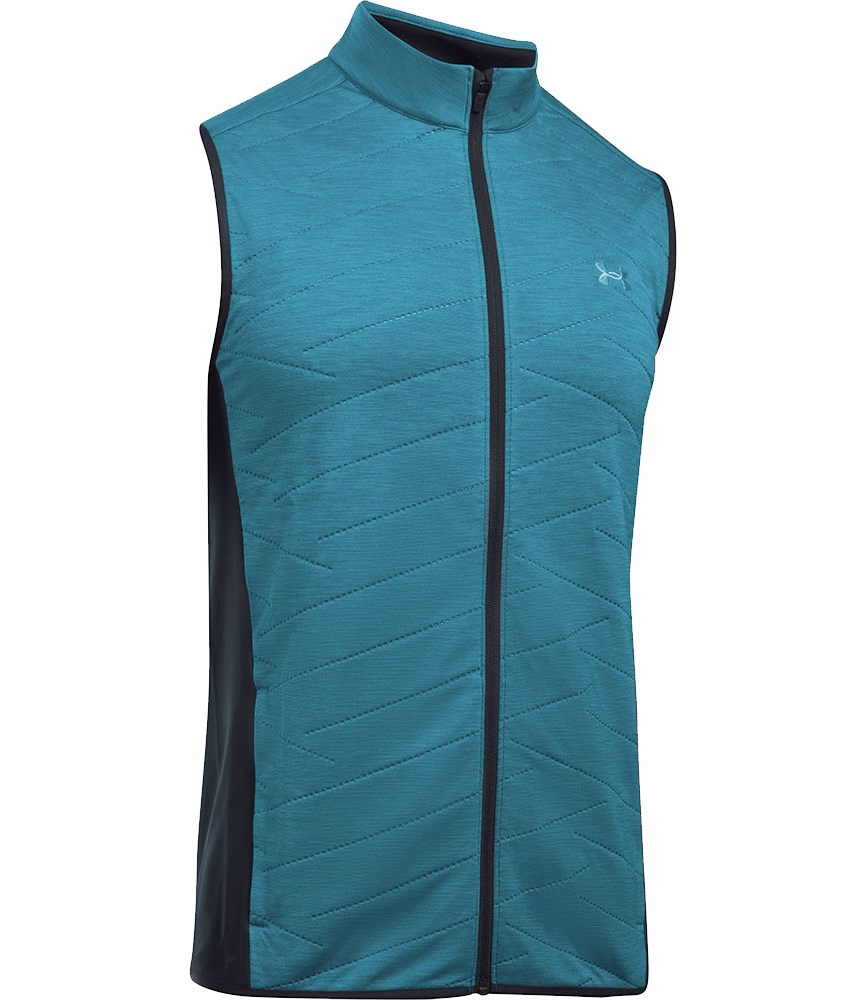 83630a5fc Under Armour Mens Reactor Hybrid Half Zip Golf Vest