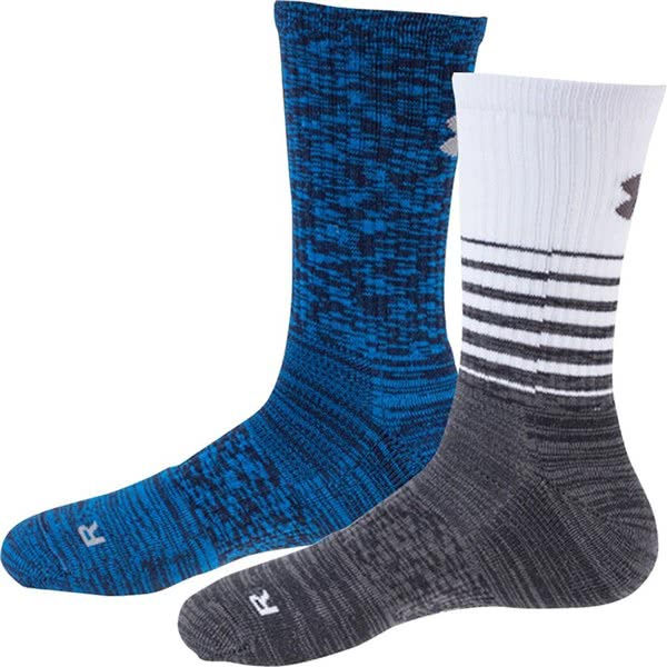 Under Armour Mens Golf Twisted Crew Socks