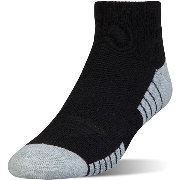 Under Armour Mens HeatGear Tech Low Cut Socks (3 Pack)