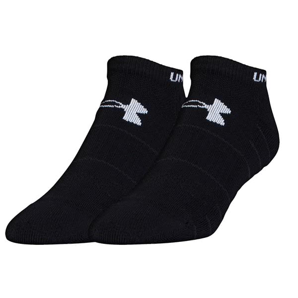 Under Armour Elevated Performance No Show Socks (2 Pack)