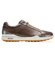 Ecco Mens Biom Hybrid Hydromax Golf Shoes  Cocoa Brown/Fanta