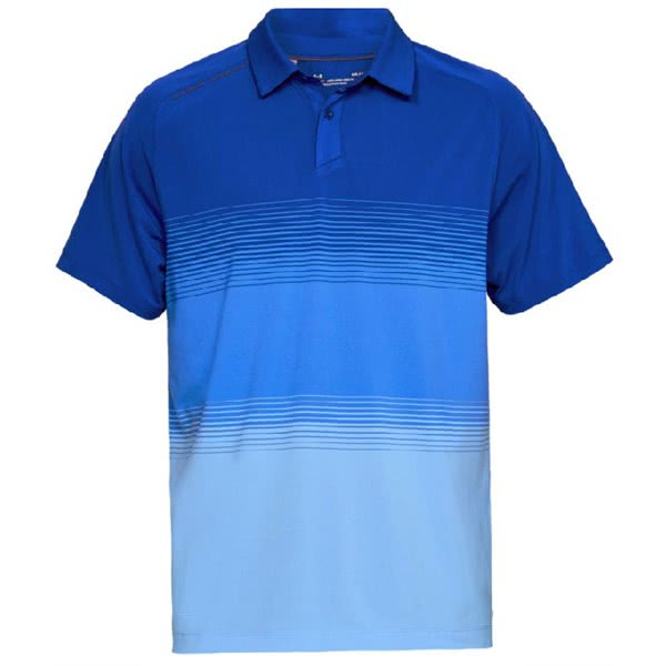 56a98542 Under Armour Mens Threadborne Gradient Polo Shirt. Double tap to zoom. 1 ...