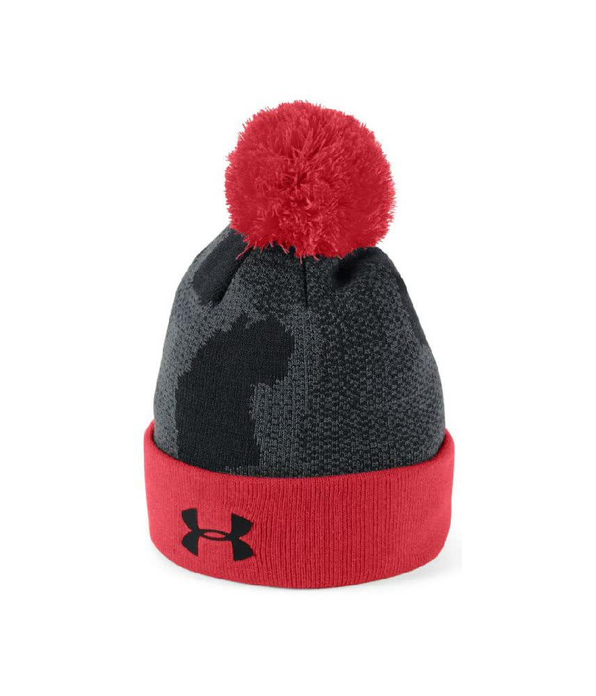 Under Armour Boys Pom Beanie 2018. Double tap to zoom. 1 ... cf5a346031bf