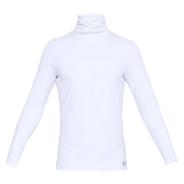 Under Armour Mens Fitted Cold Gear Funnel Neck Baselayer
