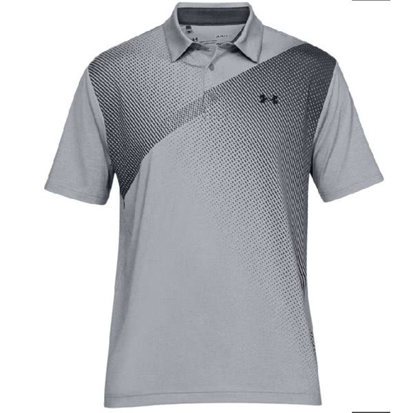 Under Armour Mens Playoff 2.0 Utility Graphic Polo Shirt
