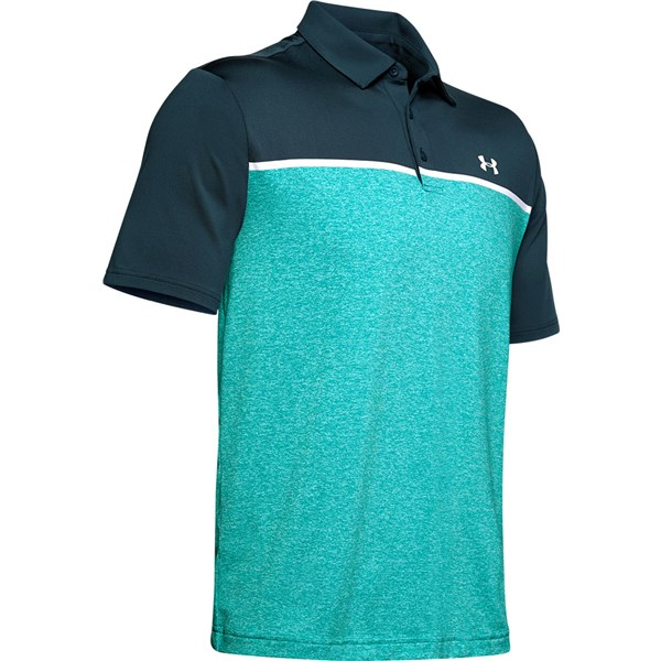 Under Armour Mens Playoff 2.0 Engineered Polo Shirt