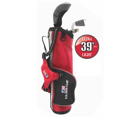US Kids UL-39 Inch Boys 3-Club Golf Package Set
