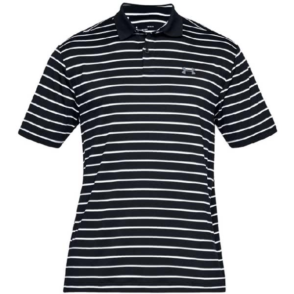 Under Armour Mens Performance 2.0 Divot Stripe Polo Shirt