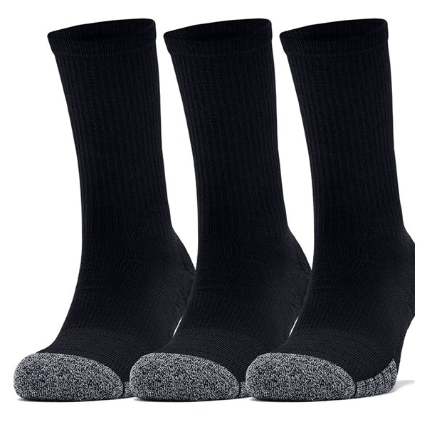 Under Armour Mens HeatGear Crew Socks (3 Pack)