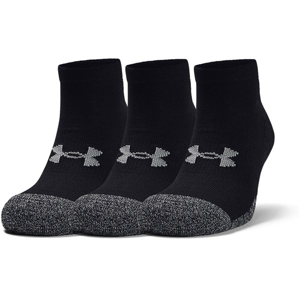 Under Armour Mens HeatGear Low Cut Socks (3 Pack)
