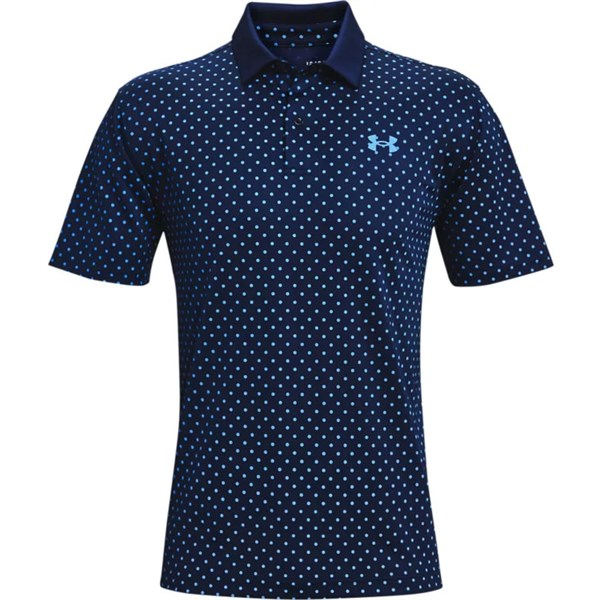 Under Armour Mens Performance Printed Polo Shirt