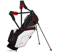 Sun Mountain Front 9 Stand Bag 2015 (Black/White/Red)
