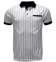Arnold Palmer Mens Baseball Stripe Polo Shirt