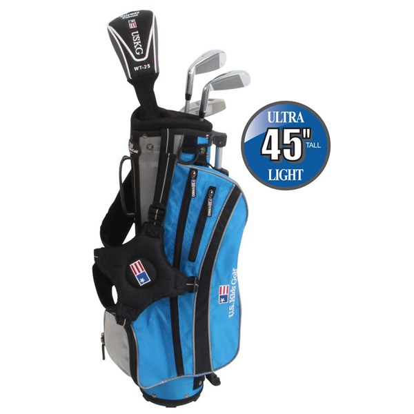 US Kids UL-45 Inch Boys 4-Club Golf Package Set