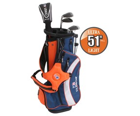 US Kids UL-51 Inch Boys 5-Club Golf Package Set