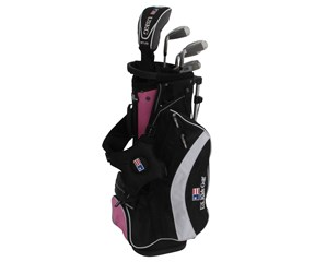 US Kids UL-51 Inch Girls Pink 5-Club Golf Package Set