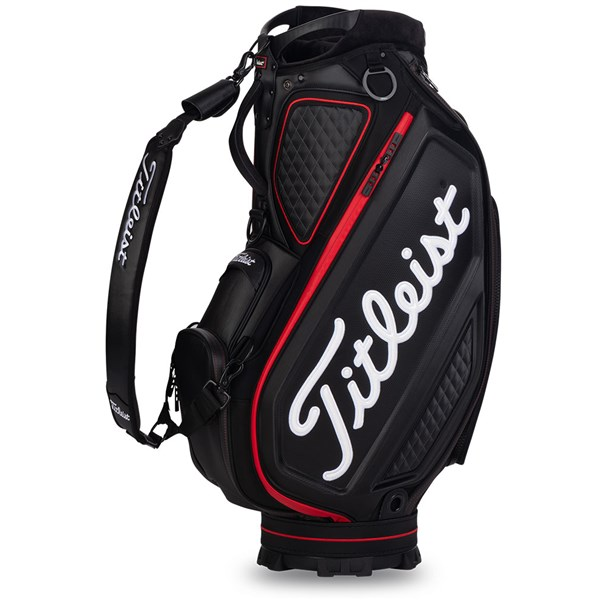 Titleist Jet Black Collection Tour Staff Bag - Limited Edition