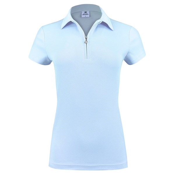 Daily Sport Macy Cap Sleeve Polo Shirt