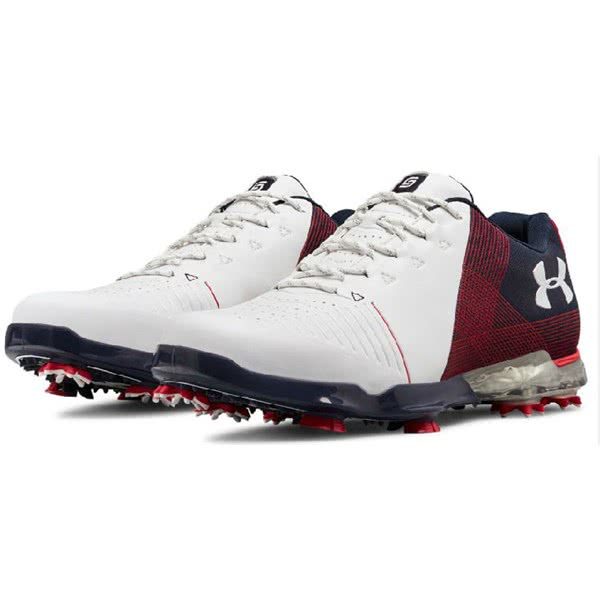 e7c143b74077 Under Armour Mens Spieth 2 Golf Shoes. Double tap to zoom. 1 ...