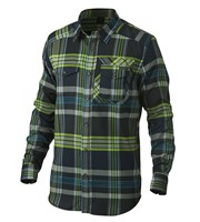 Oakley Mens Altitude Long Sleeve Flannel Shirt
