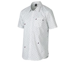Oakley Mens Print Short Sleeve Woven Shirt