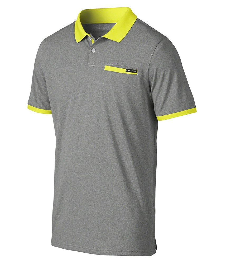 Oakley mens myers golf polo shirt golfonline for Mens golf polo shirts