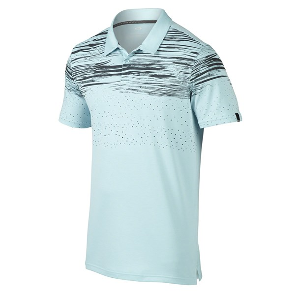 Oakley Mens Offset Wave Polo Shirt