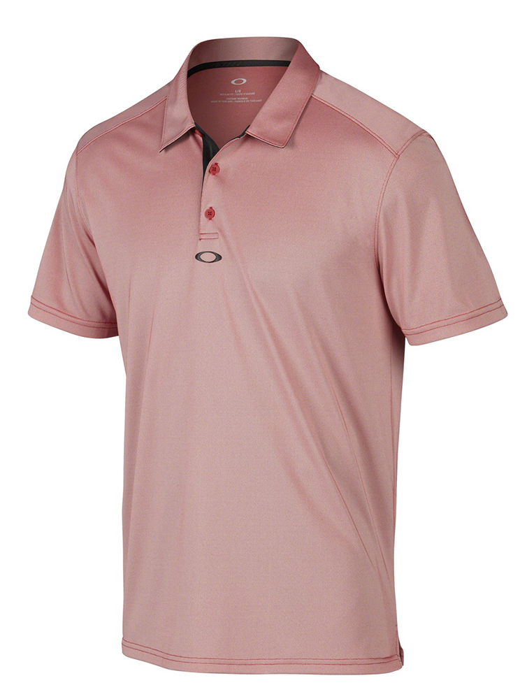 Oakley mens crafted polo shirt golfonline for Union made polo shirts