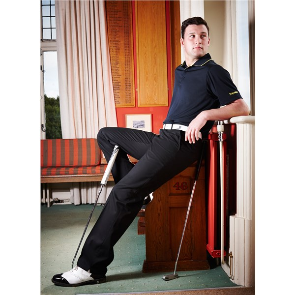 Stromberg Mens Classic Collection Plain Cotton Golf Trouser