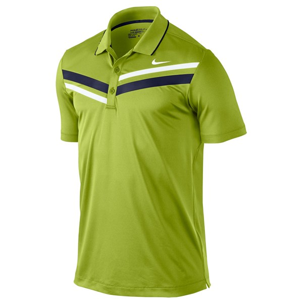 Nike Mens Dri-Fit Double Stripe Polo 2012