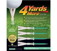 4 Yards More Golf Tees (Green)