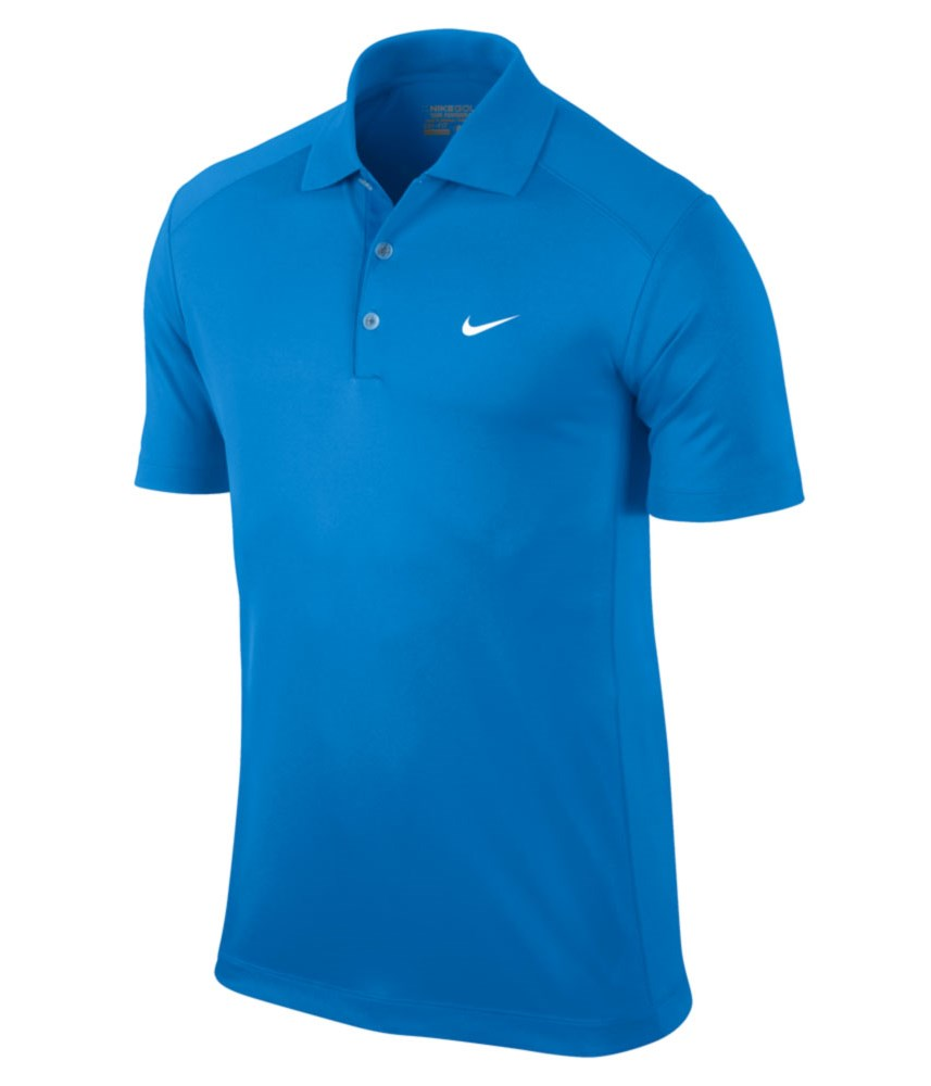 Nike Mens Victory Polo Shirt Logo On Chest Golfonline