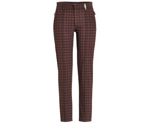 Golfino Ladies Checked Tech Stretch Brushed Trouser