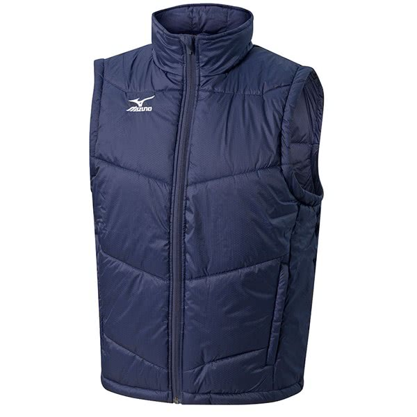 Mizuno Mens Full Zip Gilet