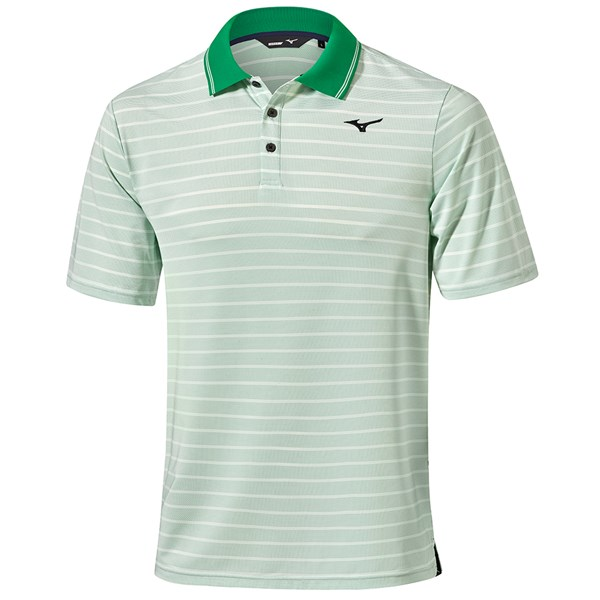 Mizuno Mens Quick Dry Boarder Polo Shirt